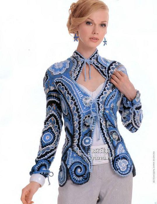 Модный портал вязаные крючком пальто